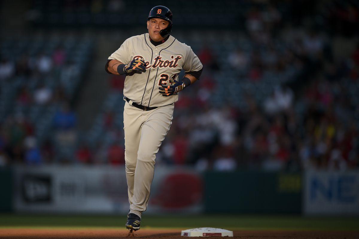 Tigers 7, Angels 2: Miguel Cabrera delights with a rare big night