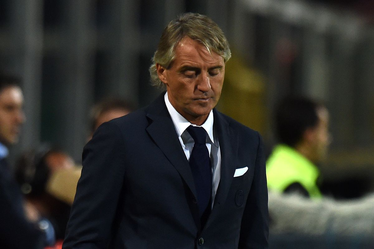 Sad Mancini is sad