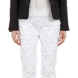 """<a href=""""http://f.curbed.cc/f/Barneys_SP_RNY_053014_jacket"""">Laced-Sleeve Fitted Deward Jacket by Isabel Marant</a>"""