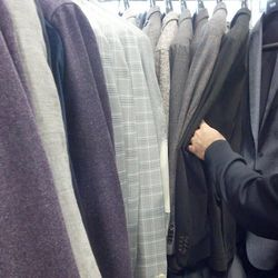 Sports coats are $225 (or two for $395)