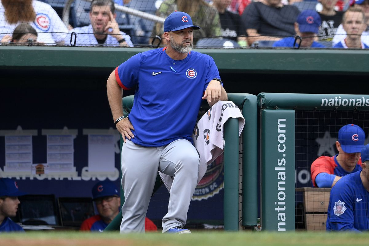 Cubs manager David Ross will get an early look at his team's NL Central rivals next season.