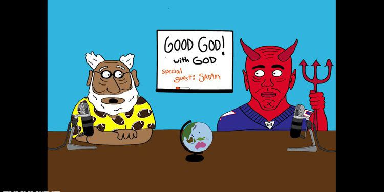 Good God! with God & Special Guest Satan - Funny Or Die
