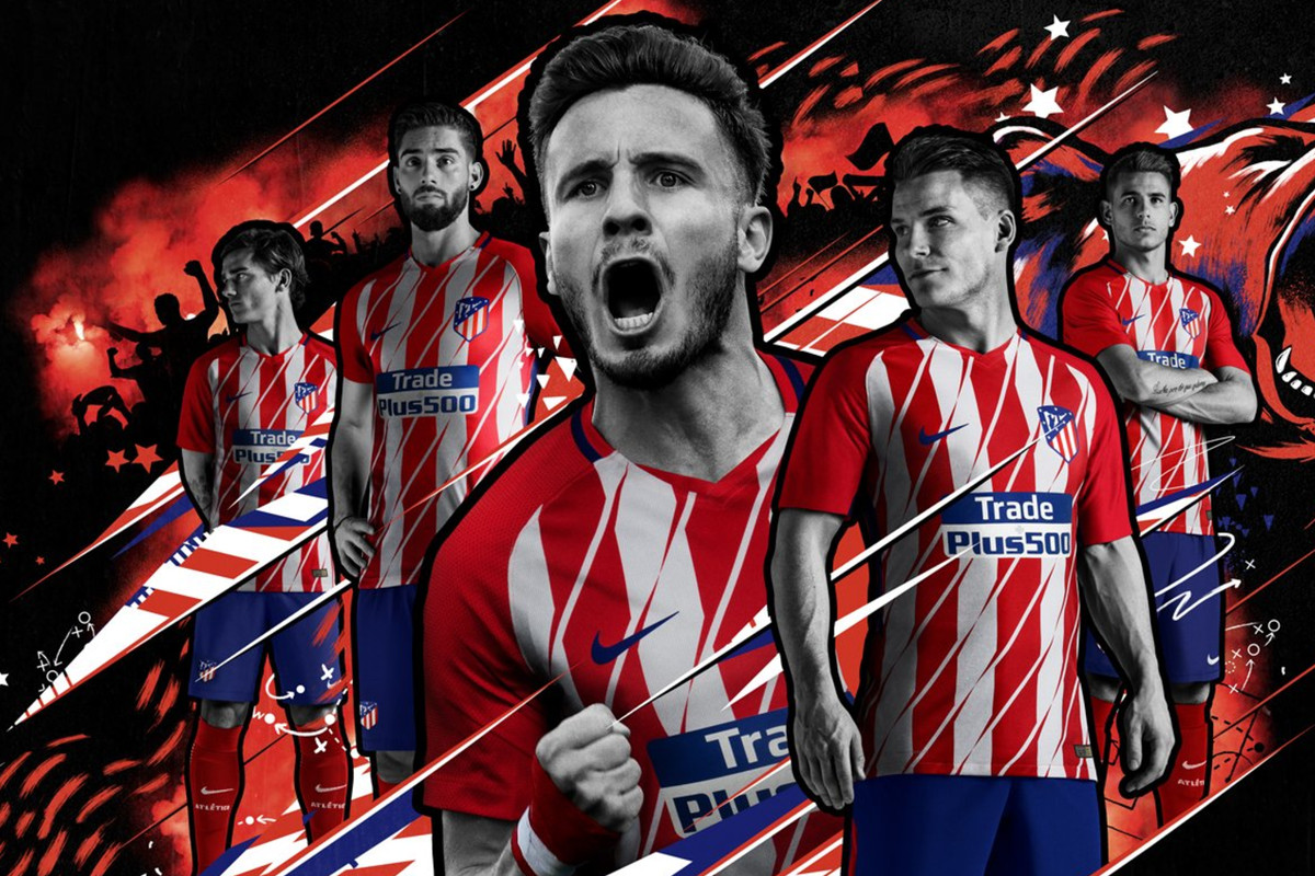 Official atltico unveil new kits for 2017 18 into the calderon the 201718 liga santander fixtures were announced today which gave atltico madrid a chance to end the inexplicable longer than usual delay behind the voltagebd Choice Image