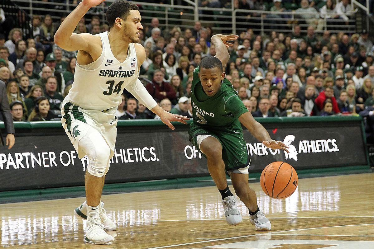NCAA Basketball: Cleveland State at Michigan State