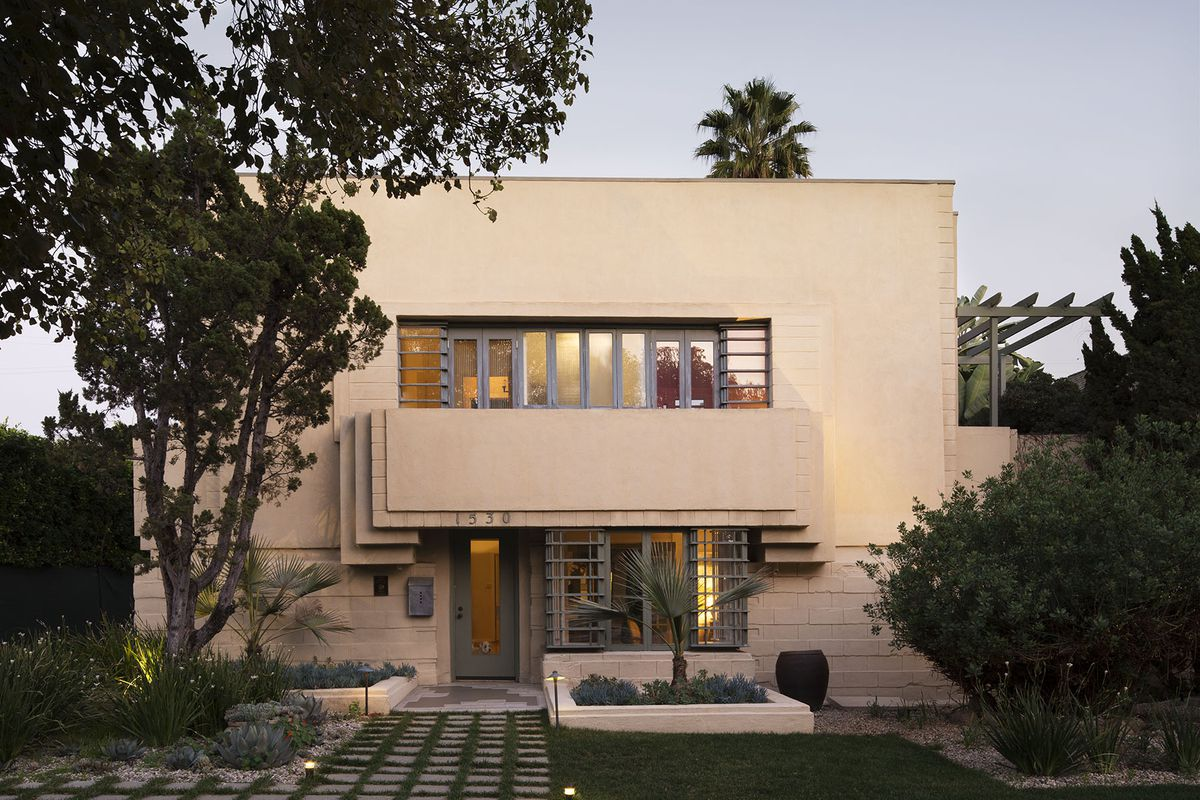 Frank Lloyd Wright House Los Angeles: Lloyd Wright's Henry Bollman Residence On The Market For