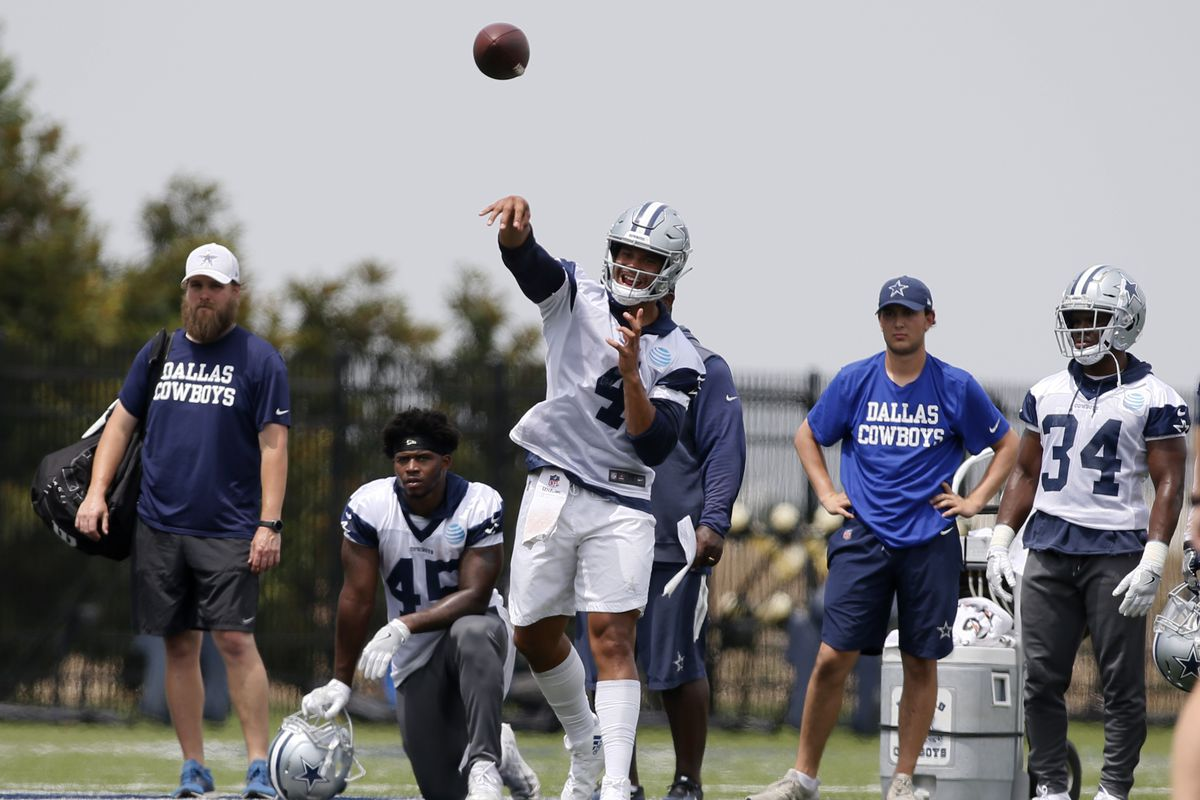 66450b4ed Cowboys training camp 2018  The no-huddle notebook - Blogging The Boys