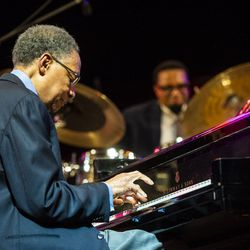 Ramsey Lewis performs at the Pritzker Pavilion, Sept. 1,2018.   Tyler LaRiviere/Sun-Times