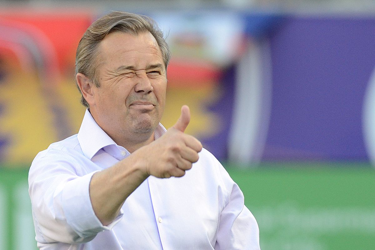 A wink and a thumb - Adrian Heath has done well assembling his expansion side - will that carry into Sunday?