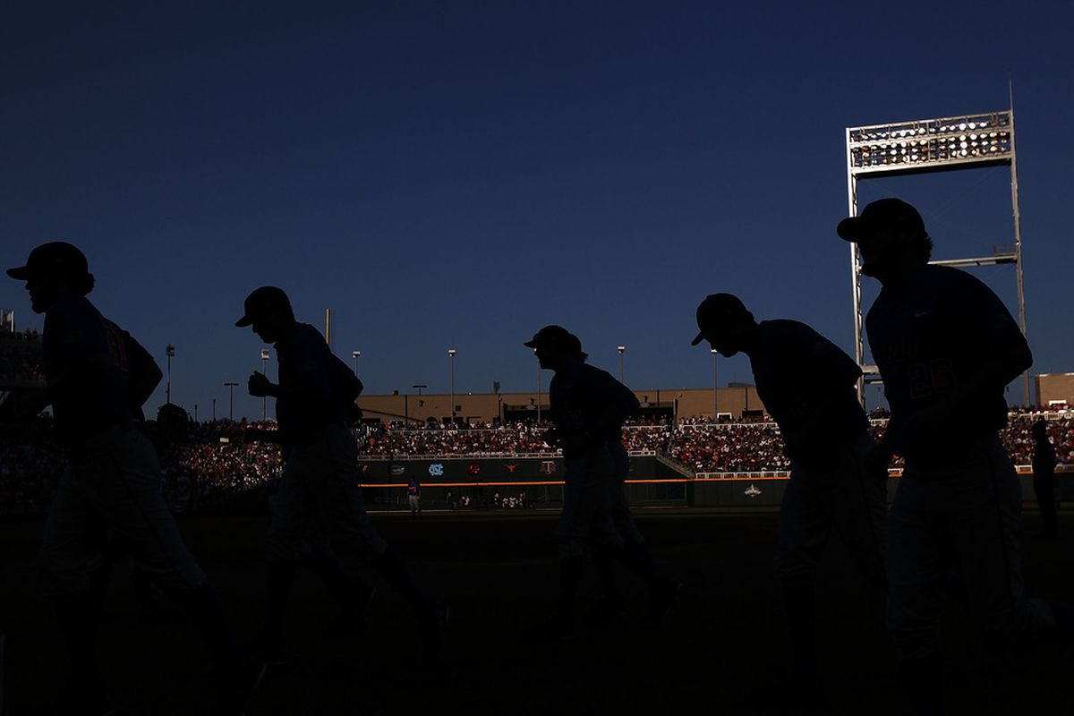 Come back, baseball!  I don't like off-weeks.  (Photo by Ronald Martinez/Getty Images)