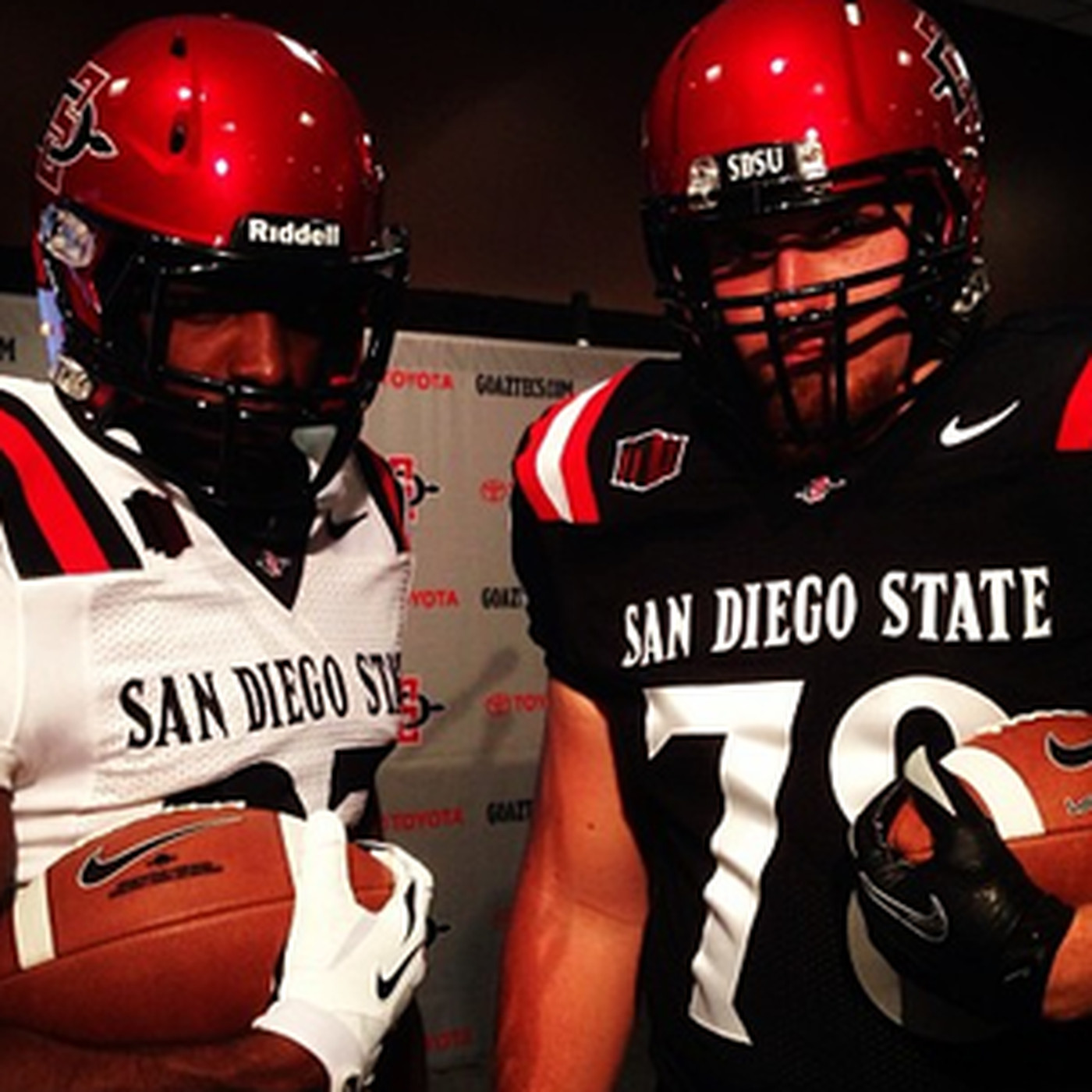 online store 031dc 1fb25 San Diego State has new logo, uniforms - Mountain West ...