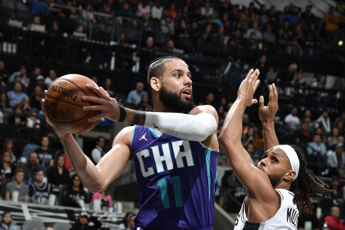 Charlotte Hornets v San Antonio Spurs