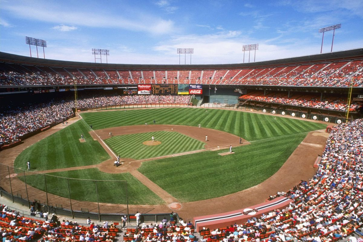 General view of Candlestick Park
