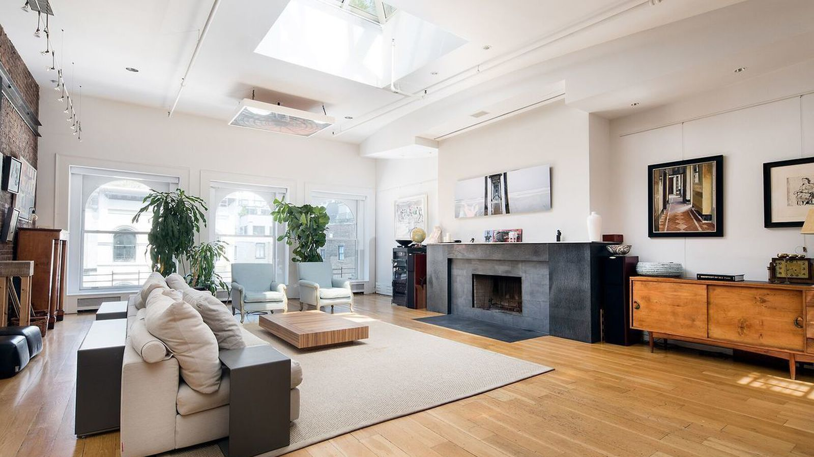 Duplex tribeca loft with lush private roof deck seeks 12m for Tribeca loft for sale