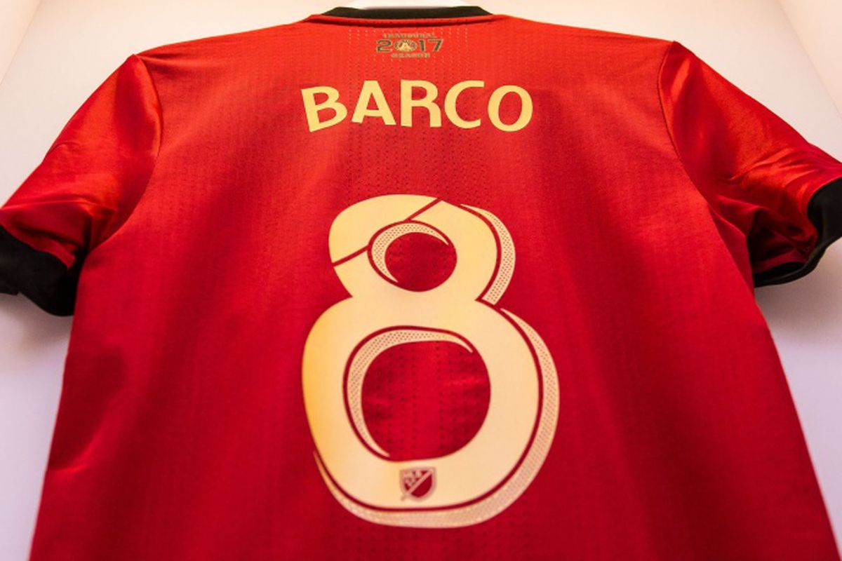 uk availability bfab0 d015b We have a signed Ezequiel Barco jersey. We want to give it ...