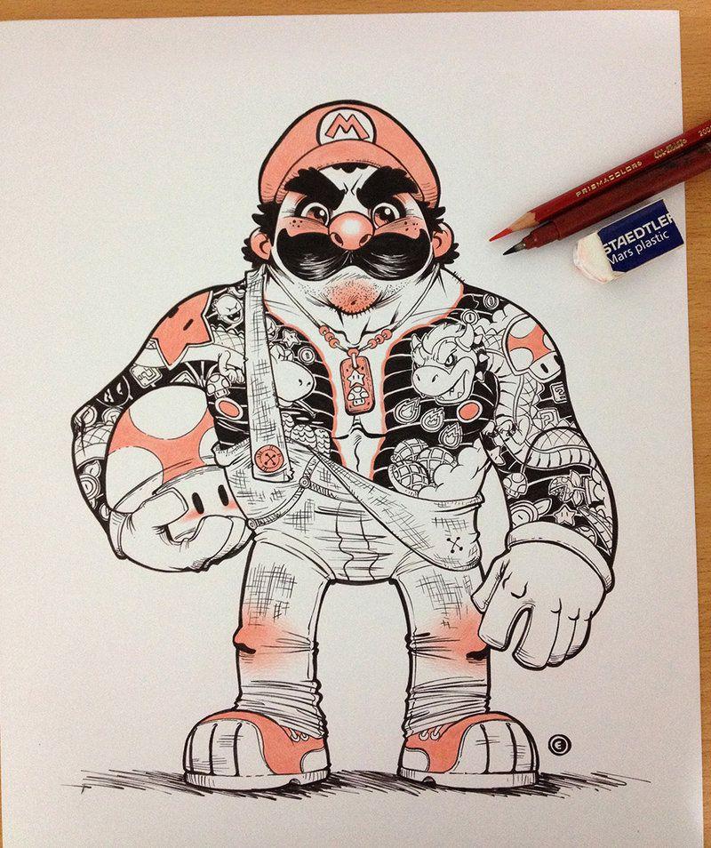 Super Mario Yakooza