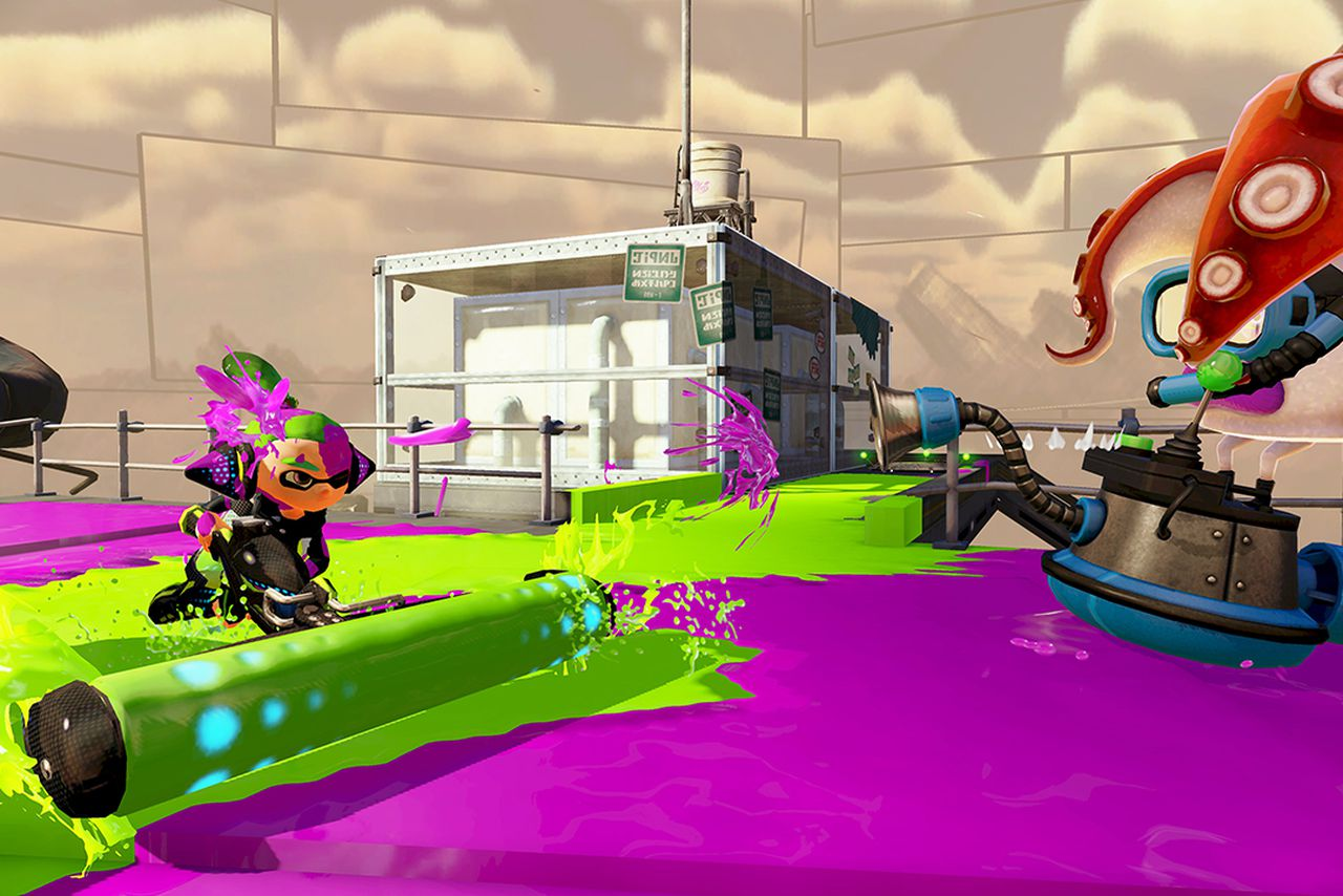 Splatoon is an online shooter for people who hate online