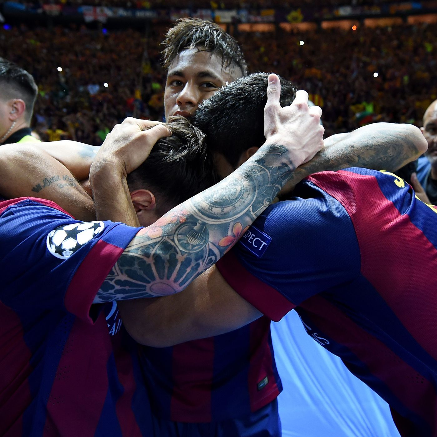 Barcelona Vs Juventus 2015 Champions League Final Blaugrana The First To Complete Two Trebles Sbnation Com