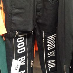 Hood By Air pants, price not marked