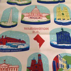 "Washington, D.C. tea towels, $14.99 at <a href=""http://www.homerule.com"">HomeRule</a>"