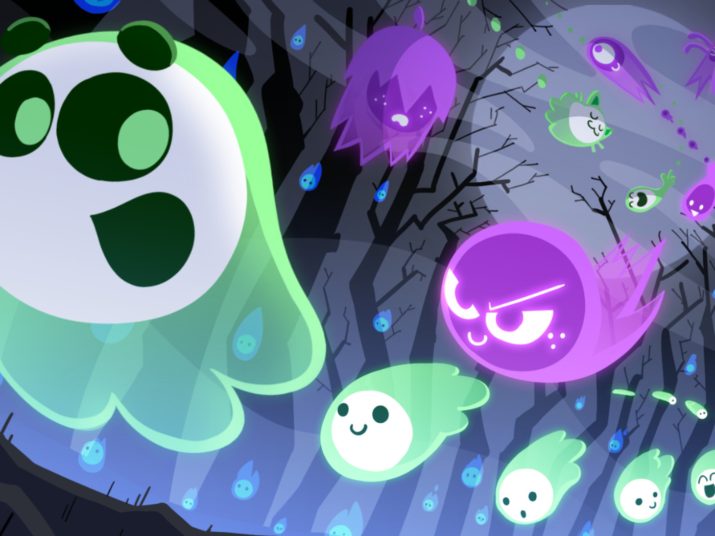google s 2018 halloween doodle is also its first multiplayer game the verge google s 2018 halloween doodle is also