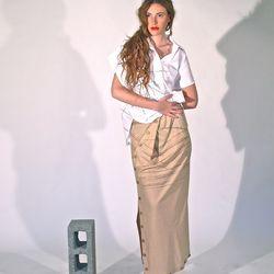 "<a href=""http://www.study-ny.com/"">Study's</a> womenswear uses hand-dyed silks."