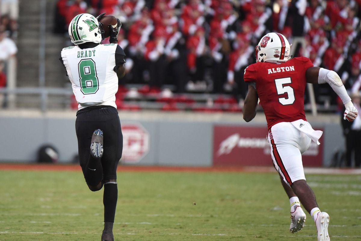 NCAA Football: Marshall at North Carolina State