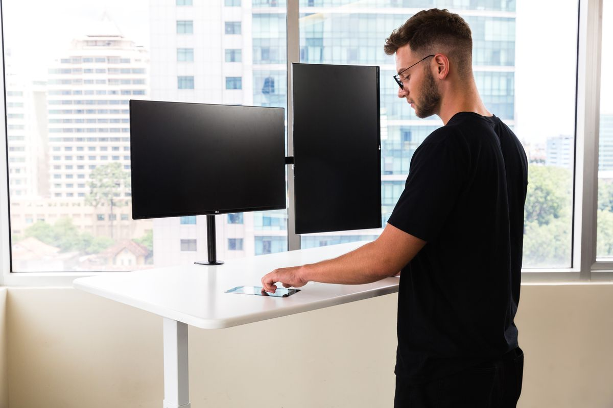 This Ai Standing Desk Really Just Has A Touchscreen