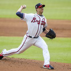 Charlie Morton, Braves starting pitcher on Friday