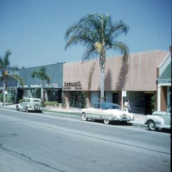 South Robertson Boulevard in the mid-1950s. Photo courtesy Ronald S. Kates.
