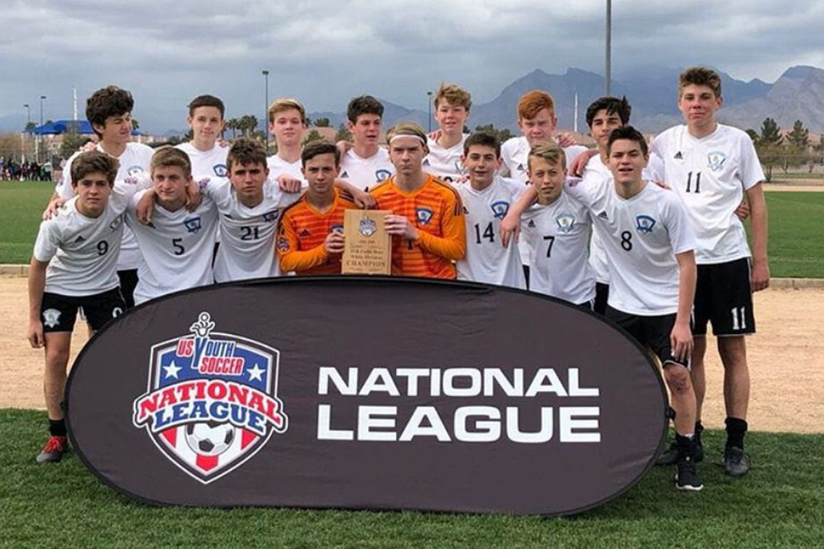 e5680524e Real Jersey FC and Philadelphia Ukrainian Nationals were crowned division  winners in the U.S. Youth Soccer National League over the weekend in Las  Vegas