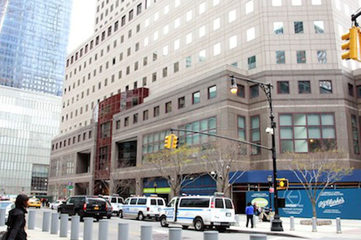 """Photo via <a href=""""http://www.wwd.com/retail-news/department-stores/saks-eyes-opening-downtown-new-york-store-7654411"""">WWD</a>"""