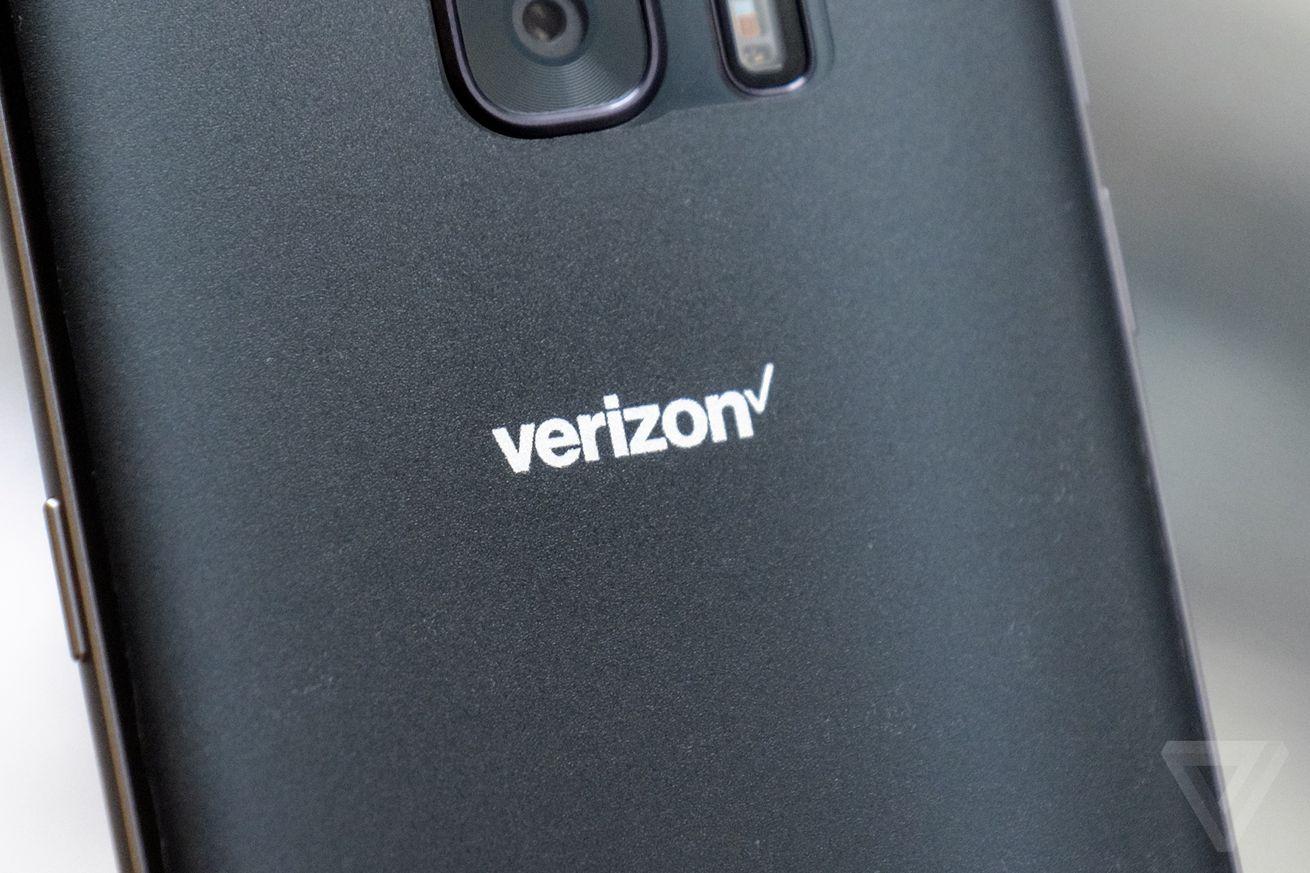 Verizon new logo stock