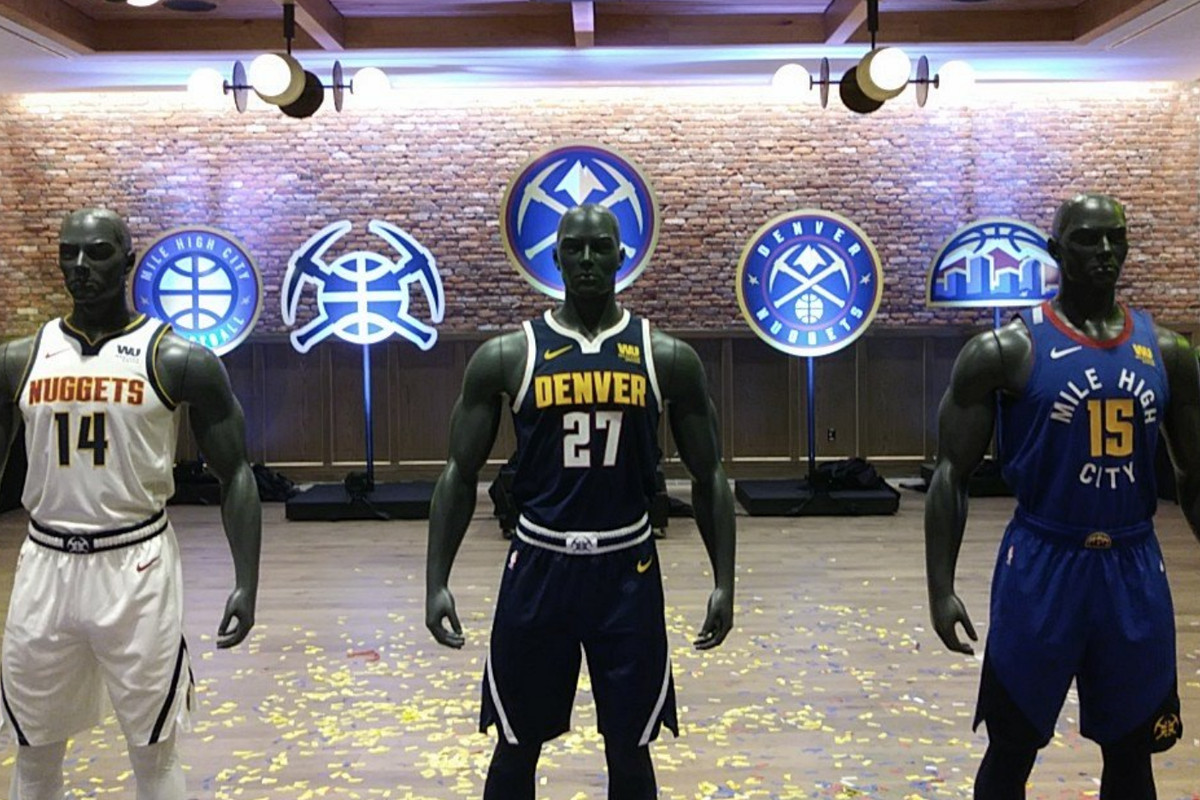 huge selection of 8505e b7411 Breaking: Nuggets unveil new uniforms for the 2018-19 season ...