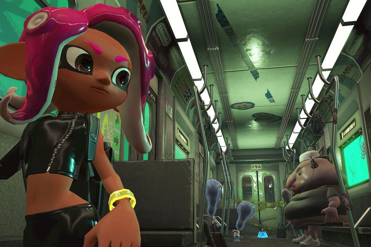 2197f07588 Splatoon s stylish world was inspired by skateboarding and hip hop ...