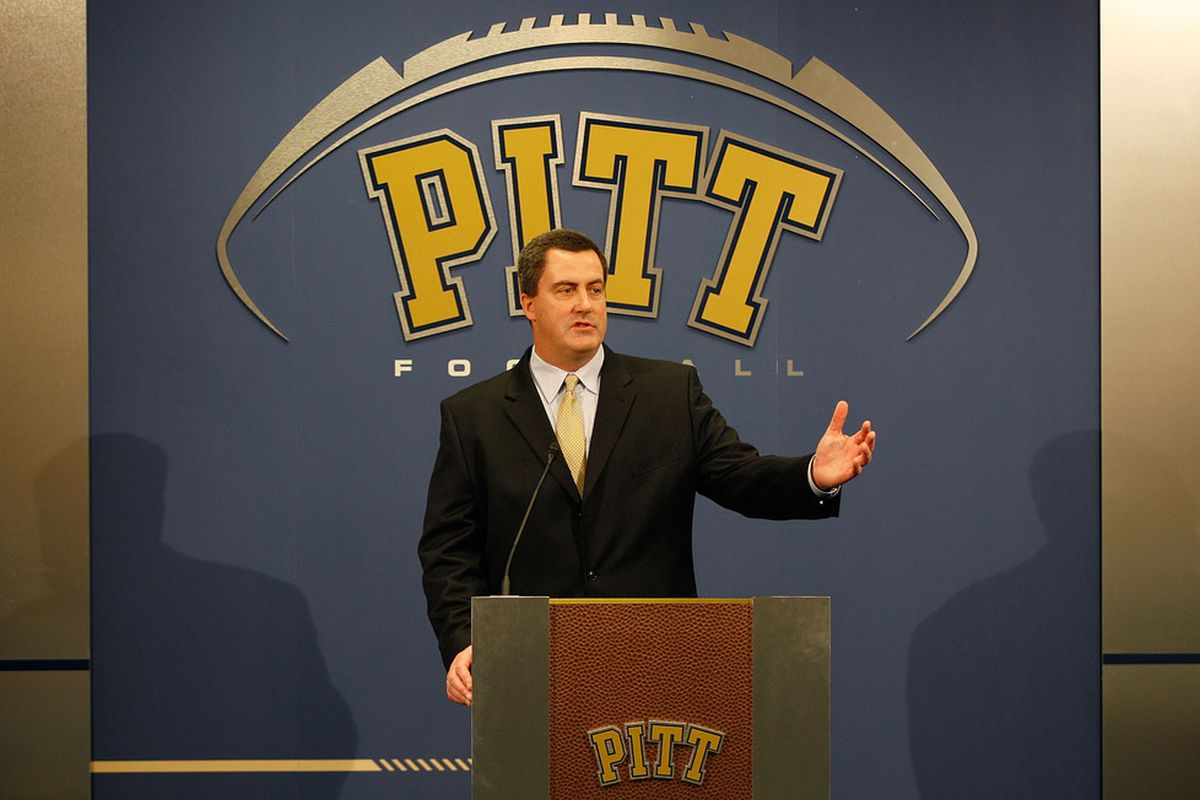 Paul Chryst released Pitt's first depth chart of the season on Monday.  (Photo by Jared Wickerham/Getty Images)