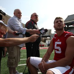 Wisconsin quarterback Tanner McEvoy shares his comments on the quarterback battle.