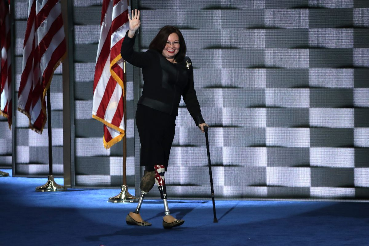 Tammy Duckworth Giving Birth Shouldn T Force Me To Give