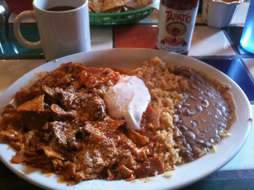 Chilaquiles at SanJalisco