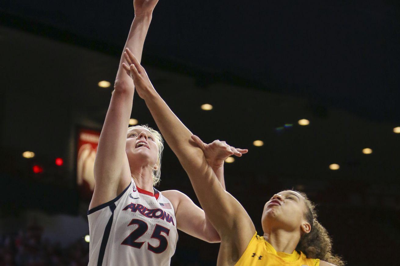 COLLEGE BASKETBALL: MAR 01 Women's Cal at Arizona