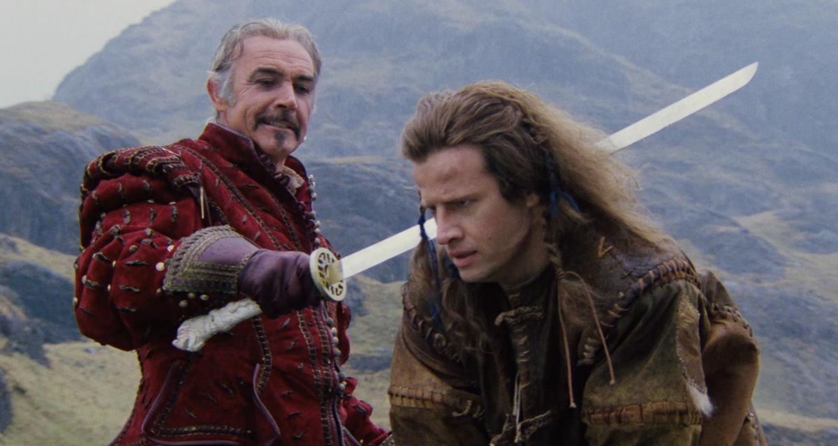 sean connery and christopher lambert in highlander