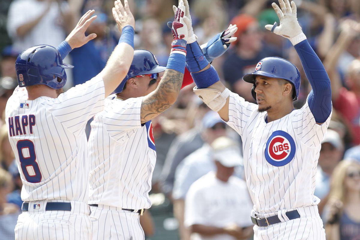 MLB: Tampa Bay Rays at Chicago Cubs
