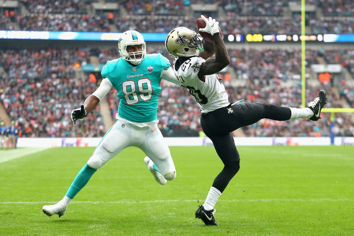 New Orleans Saints vsMiami Dolphins