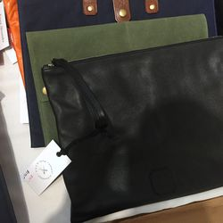 Ernest Alexander leather zip pouch, $98 (was $295)