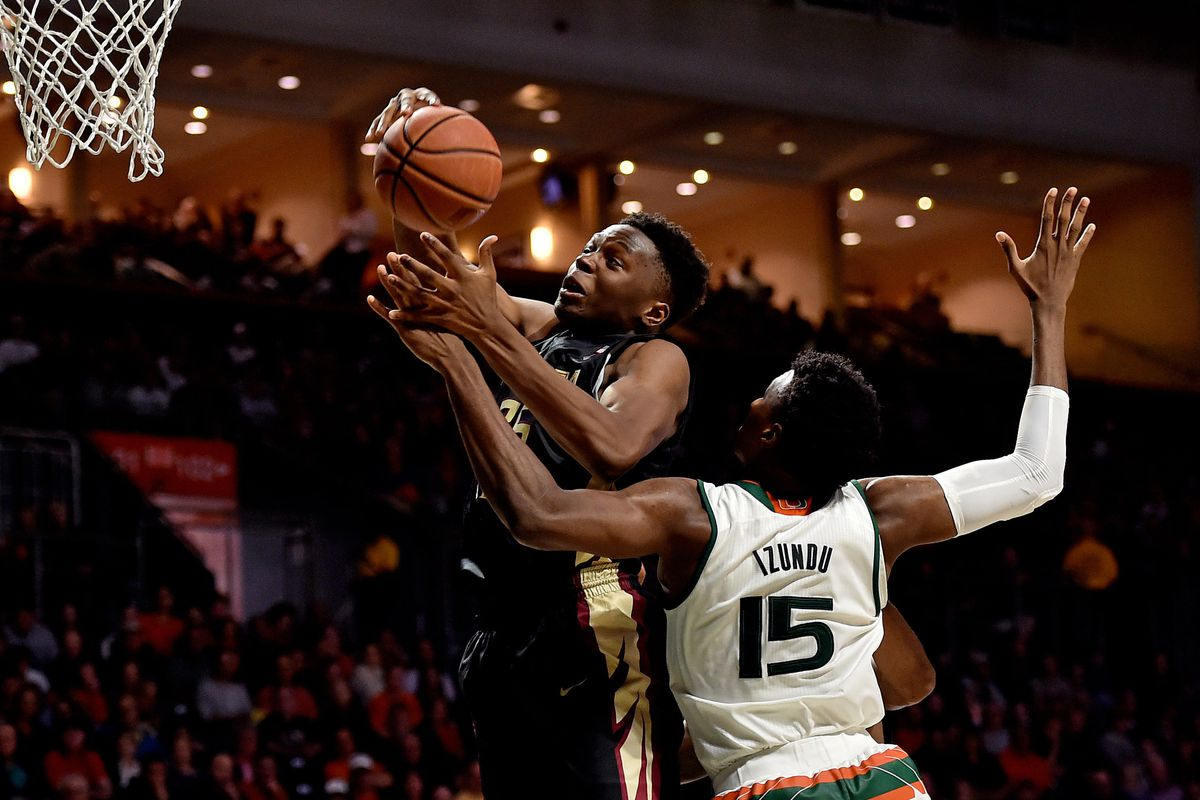 NCAA Basketball: Florida State at Miami