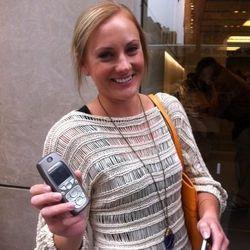 """Sam, River West. Modeling the """"Nokia N. 23"""""""