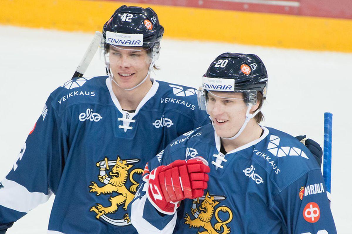 Miro Heiskanen and Eeli Tolvanen, Team Finland