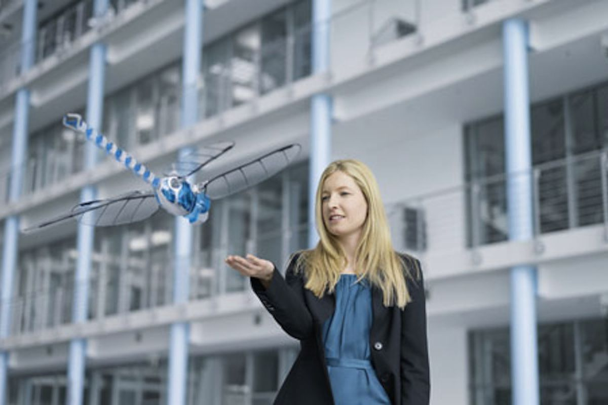 Dragonfly-inspired drone Festo BionicOpter