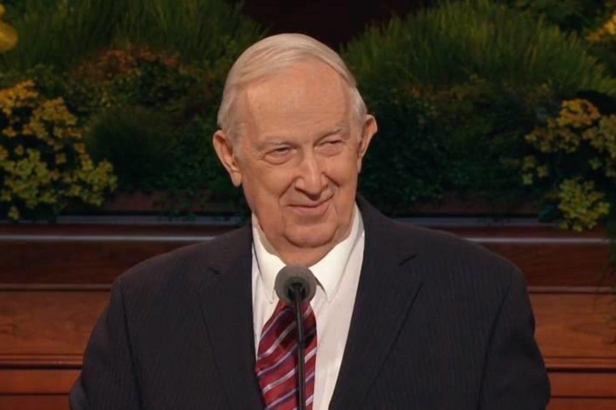 Elder Richard G. Scott of the Quorum of the Twelve Apostles