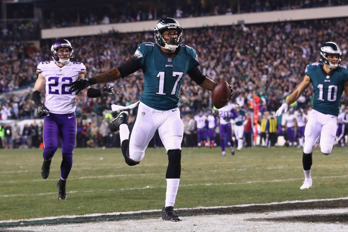 d3187a4500d Eagles-Vikings Final Score  Philadelphia advances to Super Bowl by  dominating Minnesota