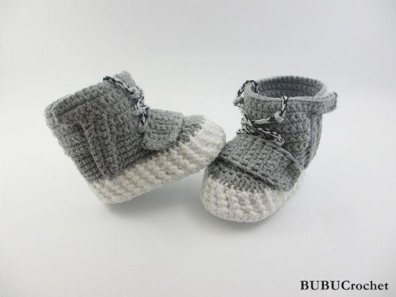 9b70cf66c250 Who Needs Baby Yeezys When You Have Crocheted Yeezy-Style Booties ...